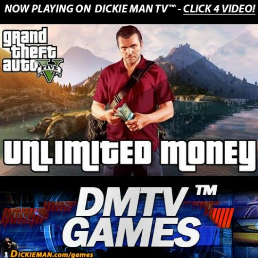 ★GAMES★ GTA V: Infinite money cheat. http://dickieman.com/games