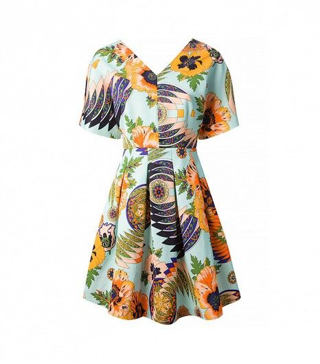 @Who What Wear - Blonde Salad-tested. Who What Wear-approved.  ​MSGM Floral Print Dress ($695)