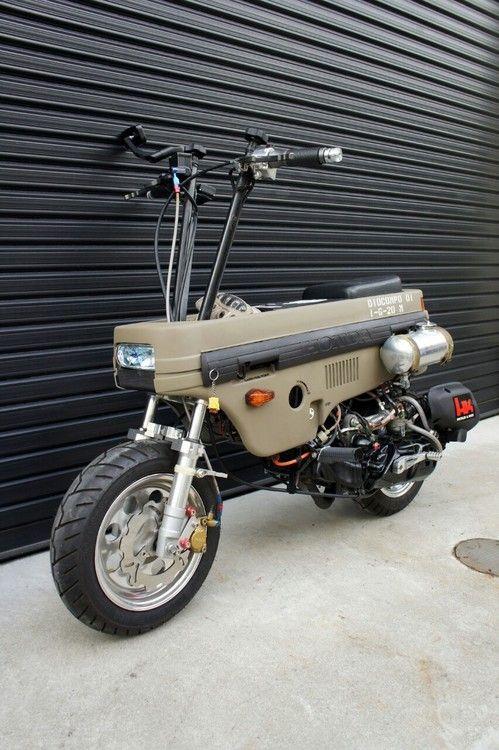 Folding Motorbike Honda motocompo folding minibike. vehicles pinterest ...
