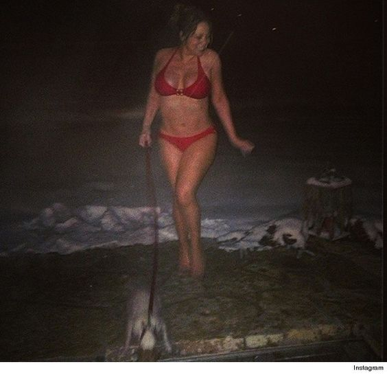 Mariah Carey Shows Off Bikini Bod ... In Aspen!