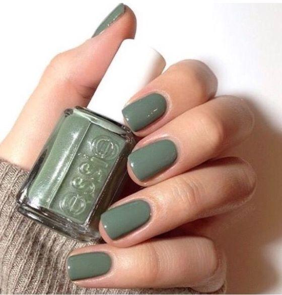Tendencias En Colores De Uñas Otoño Invierno 2018 2019 Fun Nail Colors Green Nails Nail Color Trends