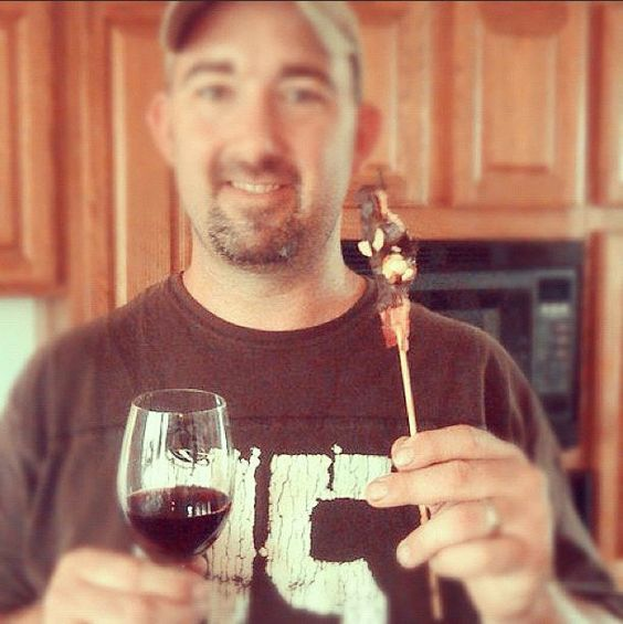 Nothing beats pairing dark chocolate covered bacon with a Missouri Norton wine. Jason Gerke, winemaker for Jowler Creek Winery in Platte City, certainly agrees!
