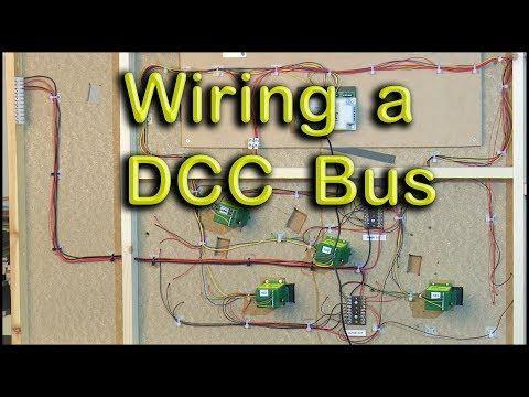 Model Railway Dcc Bus Wiring Youtube Model Trains Model Train Layouts Model Train Sets
