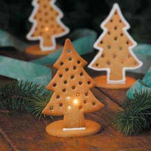 Gingerbread Candle Holders Recipe: