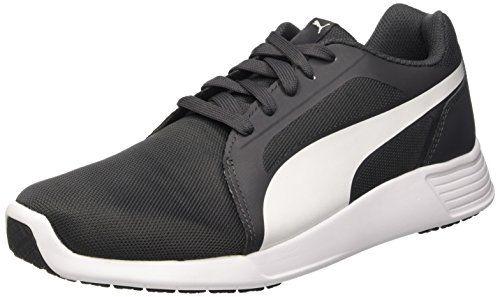 Puma Herren (Turnen) St Trainer Evo, Grigio (Asphalt/Bianco), 39 EU - http://on-line-kaufen.de/puma/39-puma-unisex-erwachsene-st-trainer-evo-sneakers