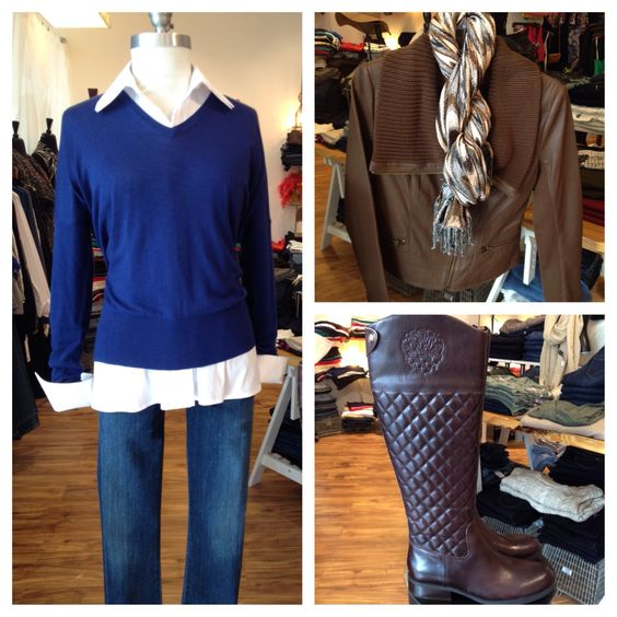 These new quilted boots by Vince Camuto are SO cute!! We love them with this classic look and gorgeous leather jacket by My Tribe. #mytribe #vincecamuto #finley #americanvintage