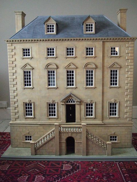 "Dollshouse created  in England by Christopher Cobb, ""Faversham House"""