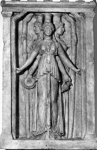 Hecate's wheel (Strophalos of Hekate):
