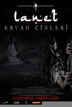 Lanet Ervah Cinleri Sansursuz Film Sinema Poster