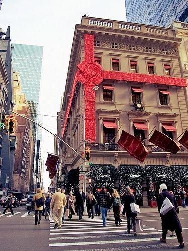 Christmas shopping in NY! :)