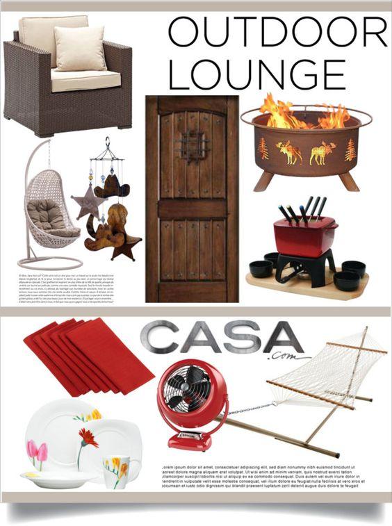 """Outdoor Lounge With Casa.com"" by piedraandjesus on Polyvore"