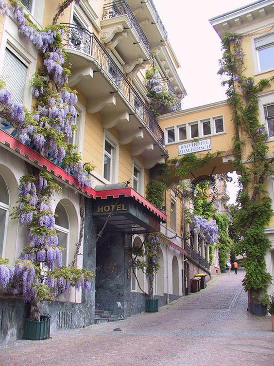 ღღ On the streets of Baden-Baden, a famous spa town in southwestern Germany (by Serry).