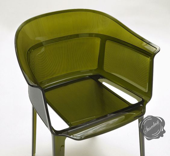Kartell Papyrus Modern Armchair by Ronan and Erwan Bouroullec. One of the most beautiful and comfortable armchairs in Kartell's modern furniture collection. From:   http://www.stardust.com/papyrus.html