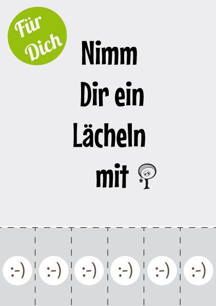 "emiliaunddiedetektive Aktion Lächeln  ""take a smile with you"" www.emiliaunddiedetektive.de"