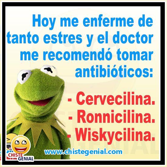 Chistes De Borrachos Hoy Me Enferme De Tanto Estres Chistes De Borrachos Hoy Me Enferme De Tanto Estr Funny Spanish Jokes Funny Spanish Memes Funny Phrases
