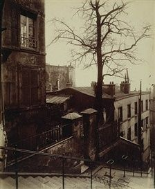 Eugene Atget, Staircase Montmartre, 1924