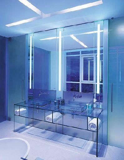 glass bathroom bathroom sinks penthouses master bathrooms bathroom ...