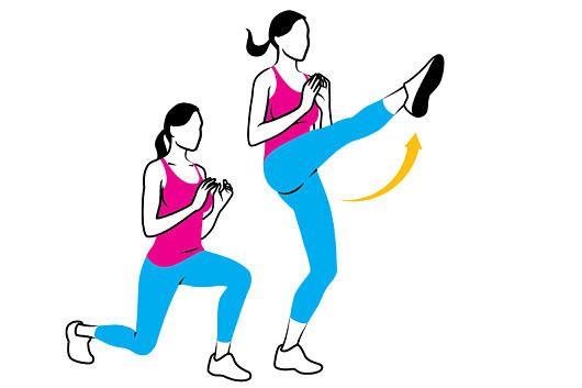 Knackiger Po und tolle Oberschenkel gefällig? Den vollständigen Trainingsplan zum Workout gibt's unter http://www.womenshealth.de/fitness/workouts-trainingsplaene/workout-fuer-po-und-oberschenkel.5497.htm#1