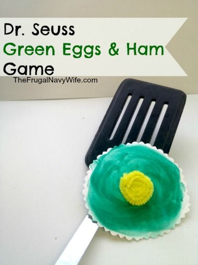 Who doesn't love the story Green Eggs and Ham? It is surely a children's classic and one of Dr. Seuss's most popular children's stories. If you child loves Green Eggs and Ham, why not turn it into a game for them? This Green Eggs and Ham Game is so easy to play, inexpensive to make,… Read More »: