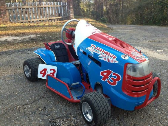Lawn Mower Lawn Mowers Pinterest Racing Lawn Mower