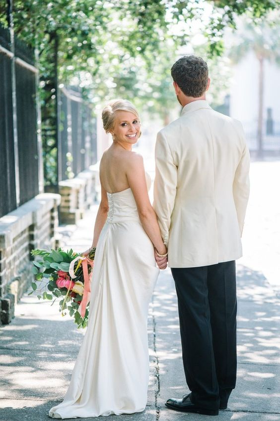 Colorful Charleston Wedding at the Historic Rice Mill - MODwedding
