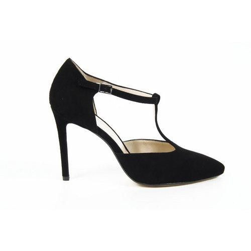 Versace 19.69 Abbigliamento Sportivo Milano ladies sandal 5814-536 Pe Cam15Ine Camoscio Nero