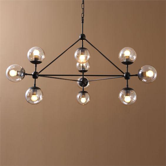 レトロなシャンデリア 照明器具 北欧 アンティーク 10灯                              …