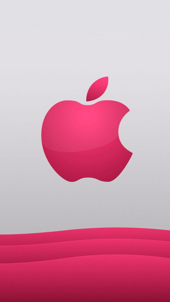 pink logo beautiful apple logo wallpapers for iphone