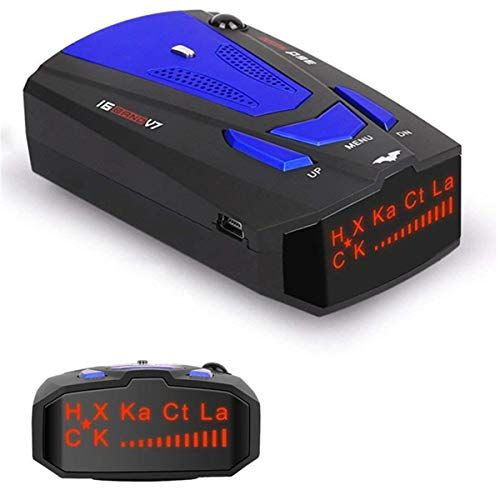 Radar Detectors for Cars Voice Alert and Car Speed Alarm System with 360 Degree Detection Radar Detector