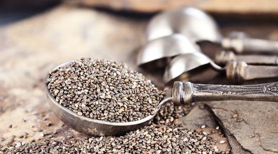 Chiasamen u ihre Verwendung in der Küche