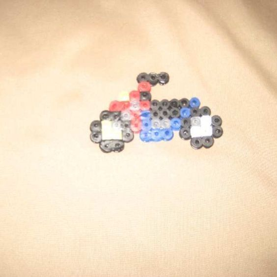 Motorcycle magnet from Teresa's Crafty Creations for $4.00