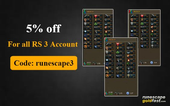 Runescape 3 account