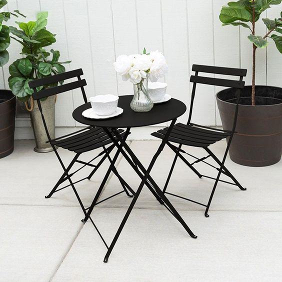 アウトドア ガーデン テーブル 折りたたみタイプ イメージ