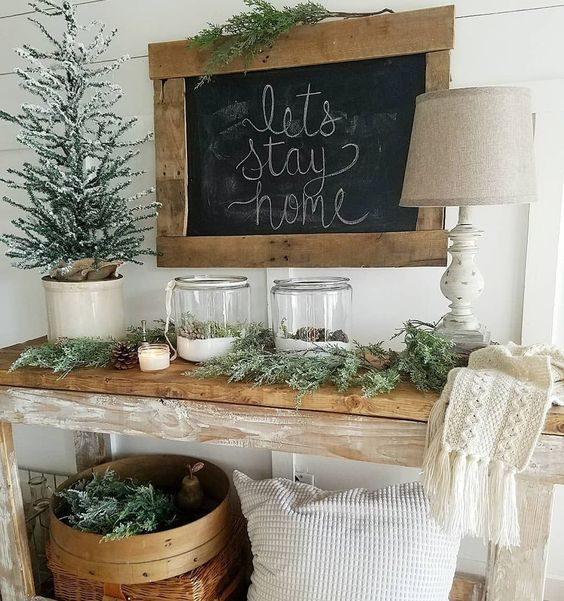 Cool 42 Winter Home Decorating Ideas