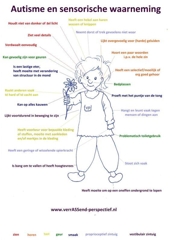autisme en zintuiglijke waarneming