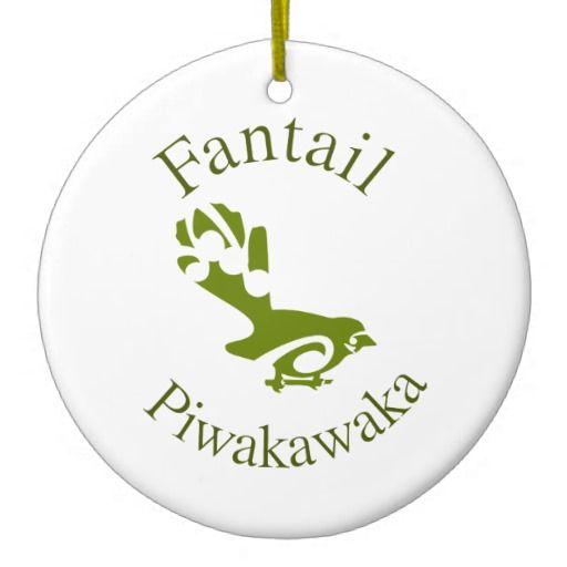 Fantail New Zealand Native Bird PIWAKAWAKA