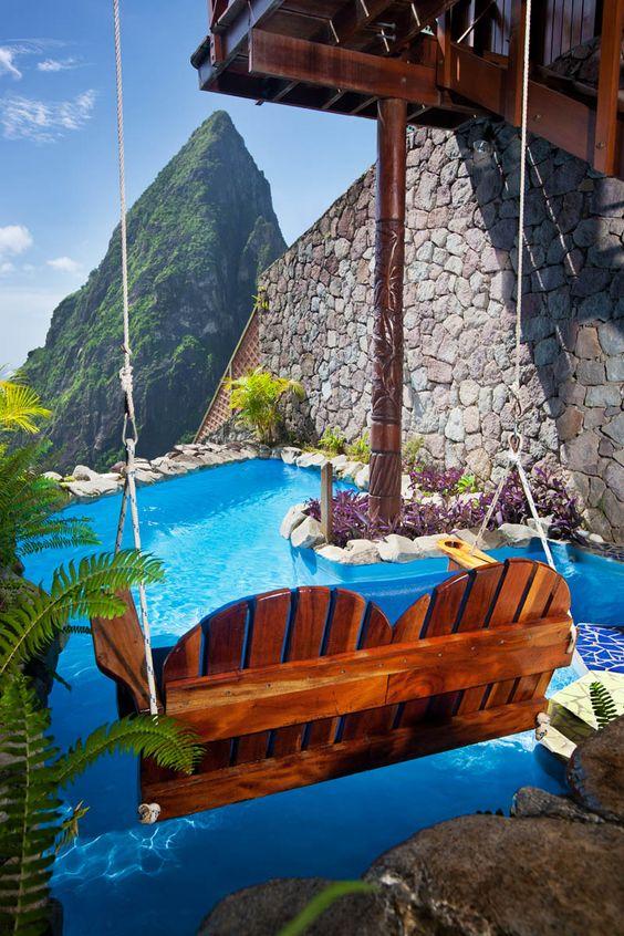 Ladera Resort, Soufrière, Santa Lucía