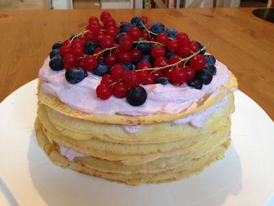 olles *Himmelsglitzerdings* Küche und mehr: Pfannkuchen Kuchen mit frischen Beeren