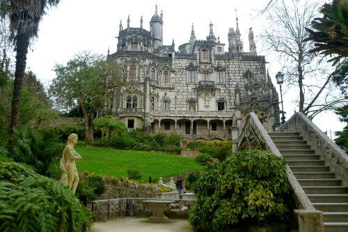quinta da regaleira palace, sintra Portuagal
