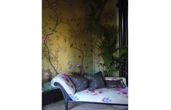Fromental | Catalogue | Collection paradiso with custom embroidery