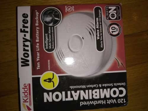 Carbon Monoxide Detectors 115943 Kidde 10 Year Worry Free Smoke And Carbon Monoxide Alarm Model I12010sco Carbon Monoxide Alarms Smoke Alarms Carbon Monoxide