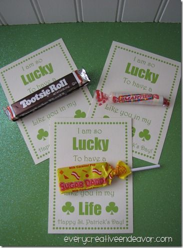 too cute ...def doing this for st pats