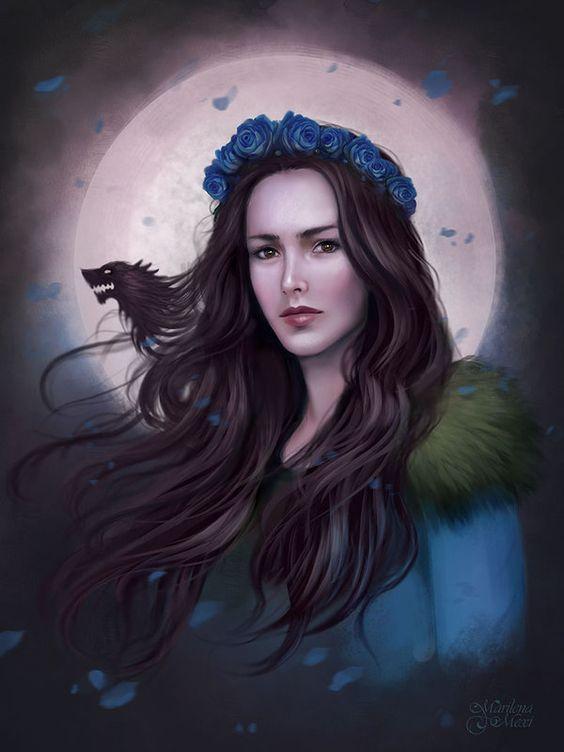 "chaseafterrainbows: "" Lyanna Stark by maril1 """