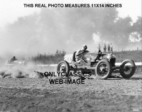 S Vintage Dirt Track Auto Racing Photo Indy Sprint Car