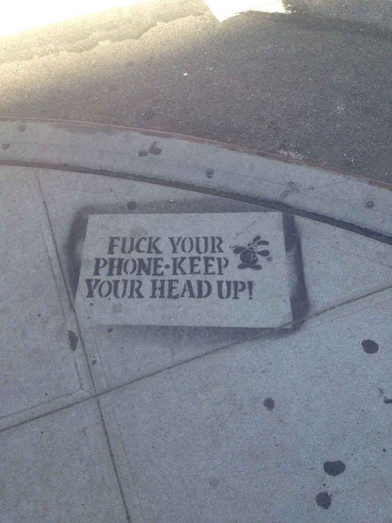 Placas de aviso em Nova York
