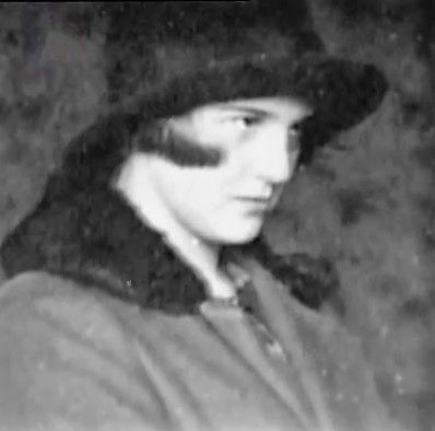 Eva Braun at the age of 15, or thereabouts. This is taken from her photo albums.: