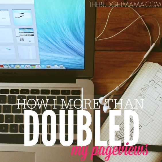 How I More Than Doubled My Pageviews