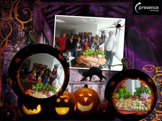 Halloween en Presence Technology Manizales