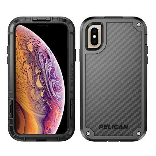 Pelican Shield Iphone Xs Case With Kevlar Brand Fibers Black