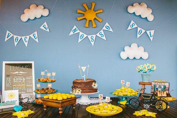 Festa Infantil | Lucas você é nosso Sol {Decoração e Papelaria: Santa Dica Festas | Fotografia: Leo Staccioli}